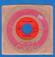 The Beatles US 45 Capitol 2138 Lady Madonna / The Inner Light
