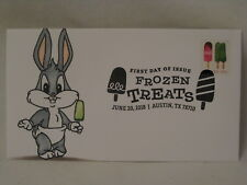 1 / 1 Frozen Treats Baby Bugs Bunny hand rendered 2018 First Day FDC Envelope