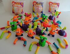 Mattel Critters & Connectors Twist-A-Zoid Nickelodeon McDonald's 36 Tangles 1996