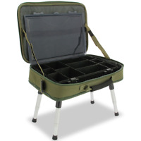 Carryall inkl. Tackle Box & Bivvy Table, Angeltasche Carp Karpfen NGT