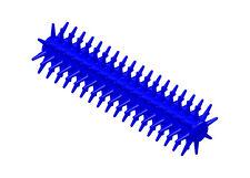 Sensory Stixx Hand Sized Instant Sensory Stimulation Fidget in Blue