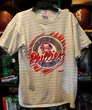 PHILADELPHIA PHILLIES SHIRT Major League Baseball Team T-Shirt MLB Trench LARGE