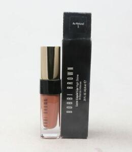 Bobbi Brown Luxe Liquid Lip High Shine shade 1 Au Natural-New In Box  Full Size