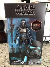 Shadow Trooper Stormtrooper 6? figure Gamestop Exclusive Star Wars Black Series