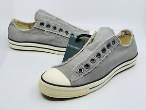 Converse x John Varvatos Chuck Taylor Low Grey Sneakers Shoes Unisex Men's 8.5