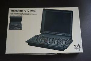 IBM Think Pad 701C Model /Plastic Model Butterfly Keyboard Limited Edition Rare