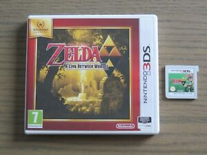JEU NINTENDO 3DS THE LEGEND OF ZELDA A LINK BETWEEN WORLDS COMPLET ,