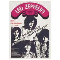 1969 Led Zeppelin Concert at The Rockpile in Toronto, ON Concert  Print Advert