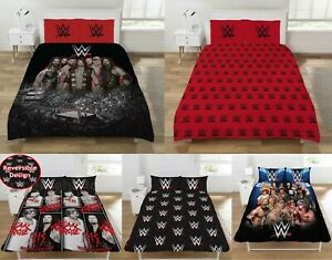 WWE Duvet Cover Set - Double - Raw Smackdown 'Ring'  / Quilt Cover Bed Set