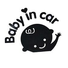 Baby In Car Waving Baby on Board Safety Sign Car Decal / Sticker