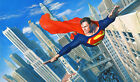 Alex Ross Superman Look, Up In The Sky! Giclee on Paper Signed 10/10