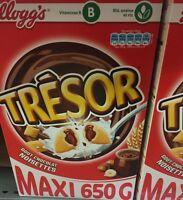 Lot revendeur destockage de 2.6 Klg De Kelloggs  Extra Chocolat Noisettes