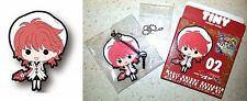 Magic Knight Rayearth Tiny Rubber Strap 02 Hikaru Shidou Fragments Clamp New