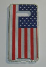 Skinit Clear Case for Samsung Galaxy S10e American Flag Distressed Patriotic USA