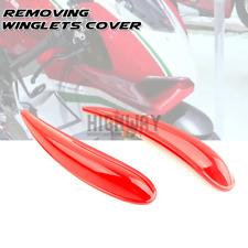 Removing Winglet Aerodynamic Wing Fairing Frame Cover for Ducati Panigale V4 V4R