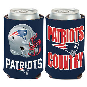 New England Patriots Can Cooler 12 oz. Koozie