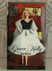 NRFB Grace Kelly Barbie doll  from REAR WINDOW 2011 Pink label RARE.
