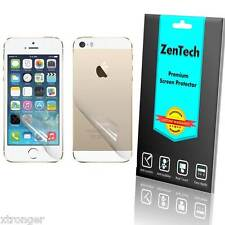 Clear FULL BODY (Front + Back) Screen Protector Guard Shield - iPhone 5S 5C 5 SE