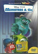 DVD - WALT DISNEY : MONSTRES ET & CIE / NEUF EMBALLE