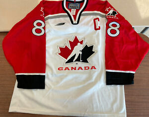 Team Canada Eric Lindros Authentic 1998 Nagano, Japan Olympic Jersey BN Sz Large