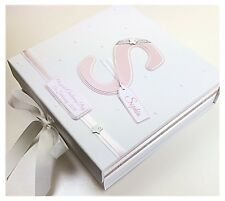 Personalised LARGE Keepsake Box / Memory Box Baby Christening Gift