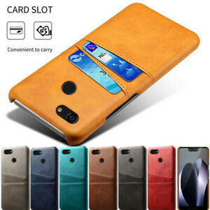 For Google Pixel 5 XL 4A 3A 3 4 XL Wallet Card Pocket Holder Case Leather Cover