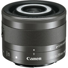 Objetivos macros Canon F/3, 5 para cámaras