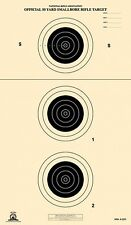 A-23/3 [A23/3] NRA Official 50 Yard Smallbore Rifle Target, on Tagboard (22)