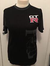 NISSAN NISMO GTR official merchandise black t-shirt GTR Graphic RARE Size S