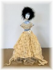 """*New* Cloth Art Doll (Paper) Pattern """"Ghoulia"""" By Judy Skeel"""