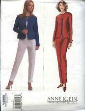 Vogue Sewing Pattern 2855 Misses size 6-8-10 Anne Klein Jacket Pants Pantsuit
