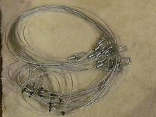 "6    60"" LOPRO LOCK  SNARES   TRAPS,TRAPPING loaded for speed NEW SALE"