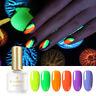 BORN PRETTY 6ml Fluorescence Gel Polish Summer Series Colorful Soak Off Nail Gel