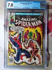 THE AMAZING SPIDER-MAN #215 CGC 7.0 SUB-MARINER FANTASTIC FOUR MARVEL APR 1981