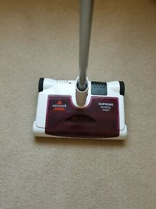 bissell supreme rechargeable electric sweeper