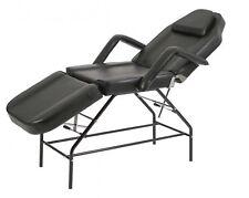 Lettino estetica a 3 snodi polifunzionale massaggiI estetista benessere spa nero