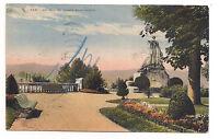 pau , un coin du square saint-martin