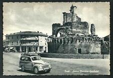 Forlì - cartolina viaggiata nel 1955 + Fiat Topolino Giardinetta