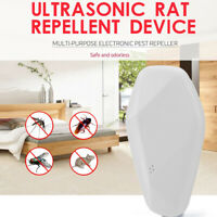 Ultrasonic Mosquito Insect Killer AC 110-250V Electronic Rat Pest Repellent