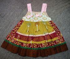 Matilda Jane PLATINUM Millie Knot Dress - Size 12 Months - EUC