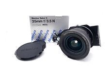 "Mamiya M645 Sekor C 35mm/3.5 "" Zörk "" Panorama-Shift Only for Minolta Md / Mc"