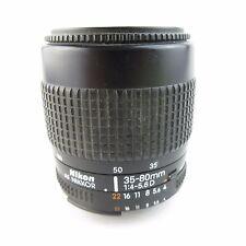 Nikon AF Nikkor 35-80mm 1:4-5.6 d objetivamente
