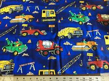 WORK ZONE COTTON FABRIC  BY THE YARD