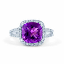 Platinum Diamond Cluster Fine Rings