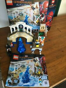 Lego 76129 Marvel Spider-Man, Hydro man Attack, Pre-Owned, Complete with Box.