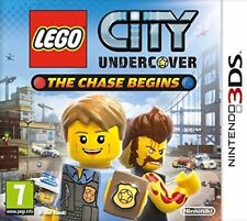 Nintendo 3DS juego Lego City Undercover the Chase Begins 3D 2DS compatible