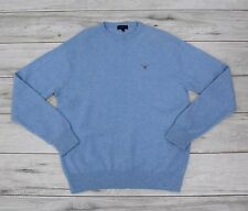 GANT USA LIGHT BLUE JUMPER lambswool size XL exlarge