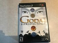 GoDai: Elemental Force (Sony PlayStation 2, 2002) Cleaned Tested