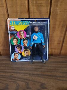 VINTAGE 1974 MEGO STAR TREK Dr. McCoy (BONES) Figure  On card  UNOPENED