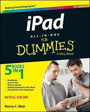 iPad All-in-One for Dummies by Nancy C. Muir (2015, Paperback)